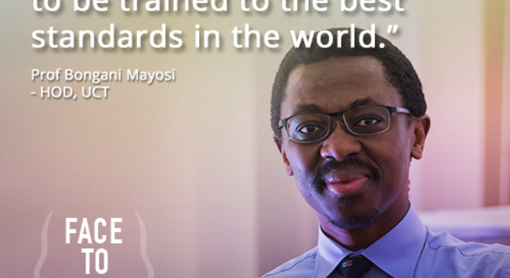 Face to Face with Success: Dr Bongani Mayosi