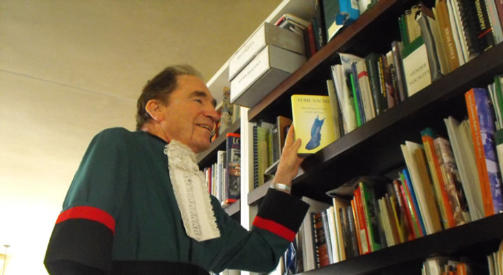 LISTEN: Here's what freedom means to former ConCourt Judge, Albie Sachs