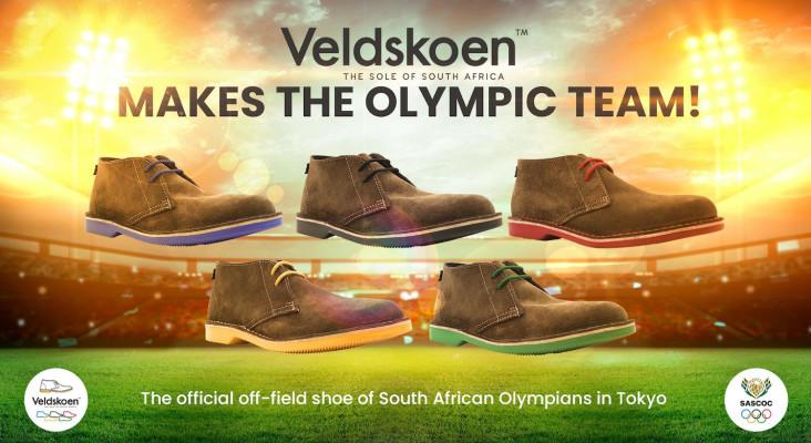 """本地品牌""""Veldskoen Shoes""""成为福彩36选7奥林匹克队制服的一部分"""