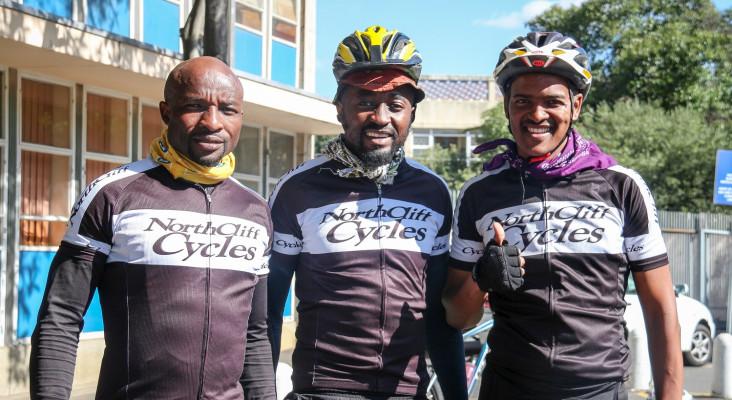 Previous Lead SA Hero, Lindsay cycles for change