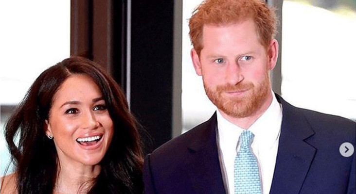 Prince Harry and Meghan Markle to 'step back' from royal family