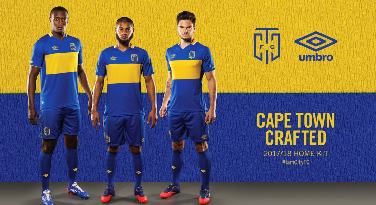 Check out Cape Town City FC's new kit!