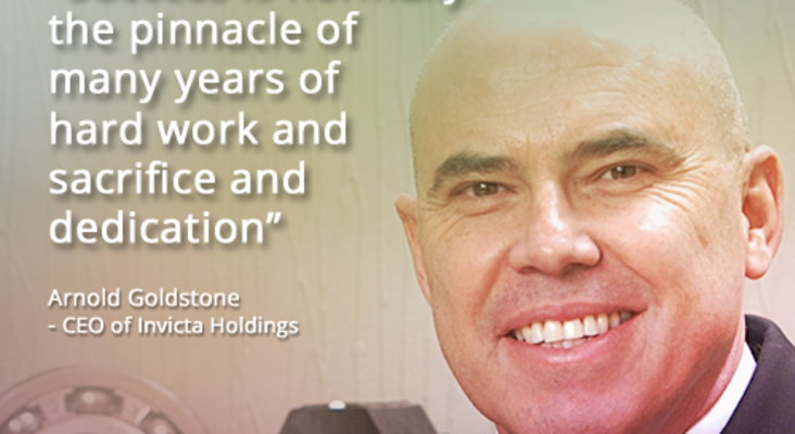 Face to Face with Success: Arnold Goldstone