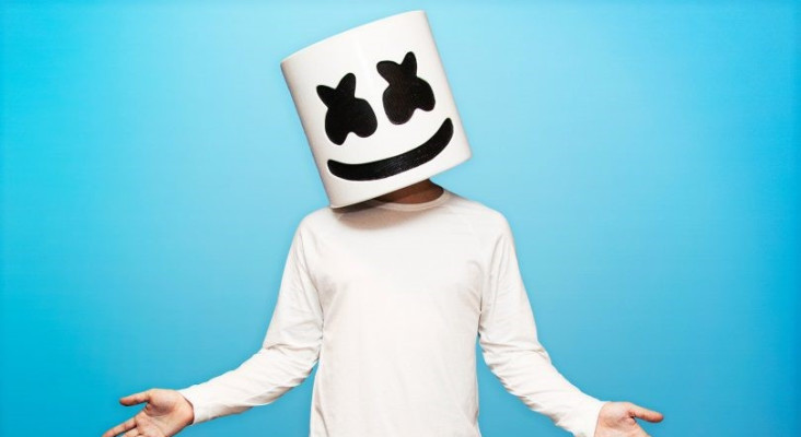 Marshmello reveals who he would love to work with