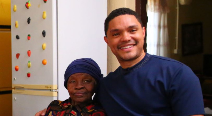 [WATCH] Trevor Noah visits his gogo in Soweto and she is just as funny!