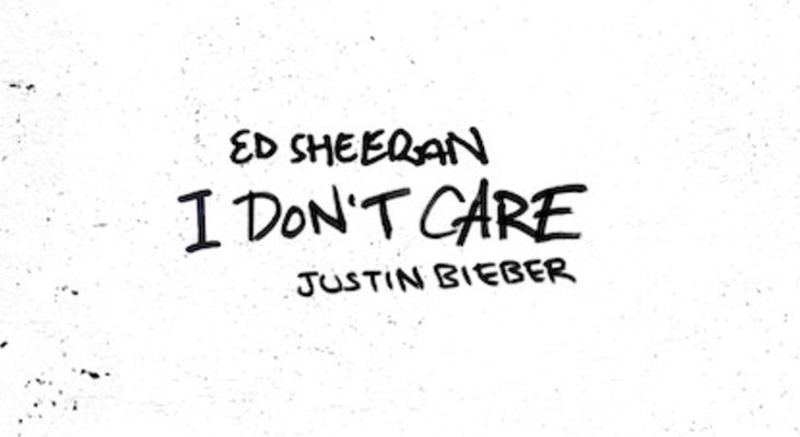 Ed Sheeran and Justin Bieber unveil the official music video for 'I don't care'