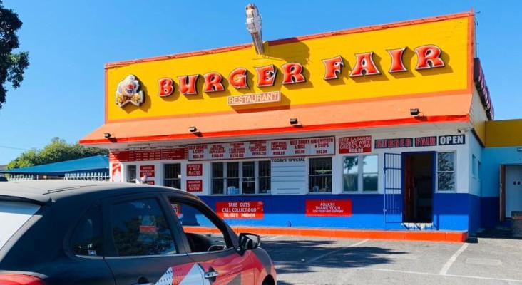 Roadhouse nostalgia at the Burger Fair in Bellville