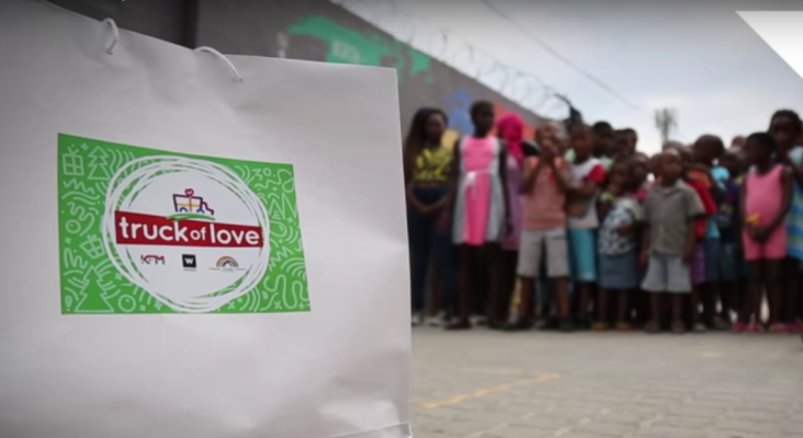 Truck of Love with Woolworths and MySchool