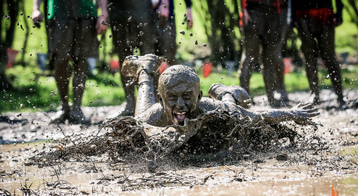Test your mettle with Discovery Tough Mudder