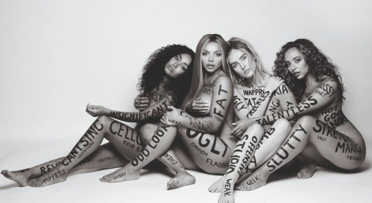 Little Mix strip down for a reason