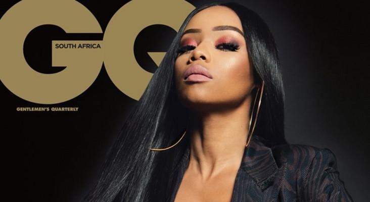 Bonang becomes 1st SA woman to grace 'GQ' mag's local cover stand-alone