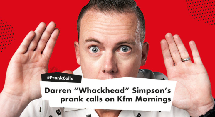 """Here's our weekly round-up of Darren """"Whackhead"""" Simpson's epic pranks!"""
