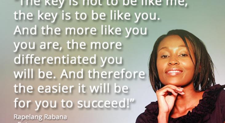 Face to Face With Success - Rapelang Rabana