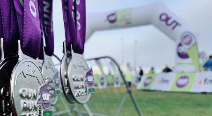"""Annual OUTsurance Life Kfm Gun Run demonstrates """"Running is for everyone"""""""