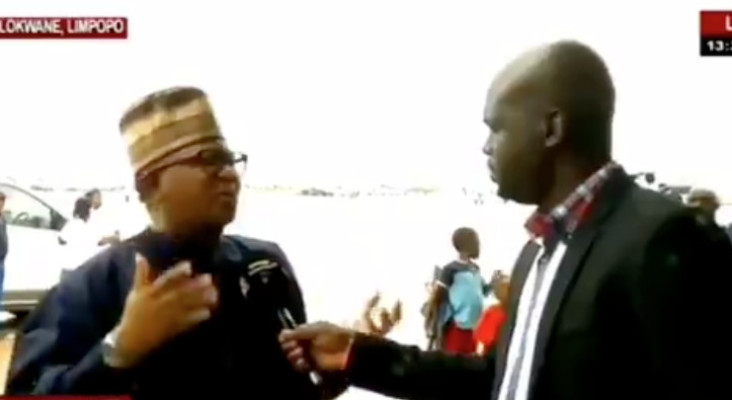[WATCH] Fikile Mbalula's funny interview has social media in stitches