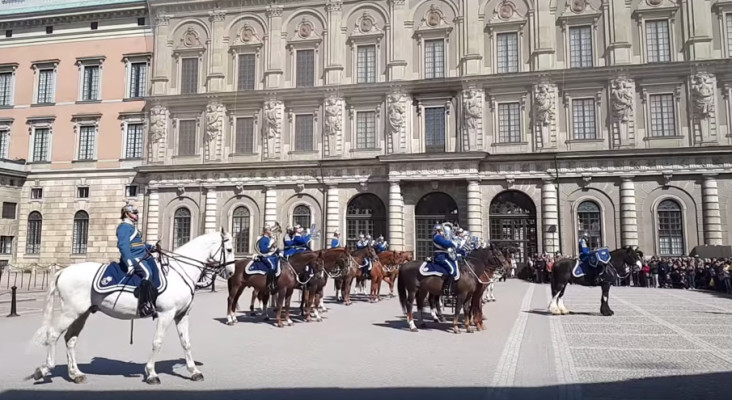The Swedish Army perform Avicii medley