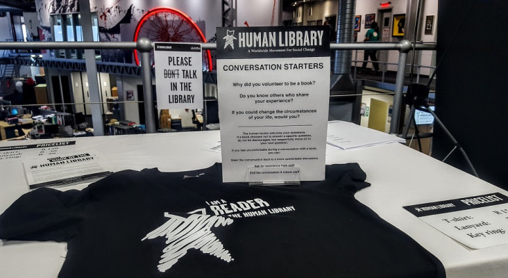 Becoming a reader of the human library