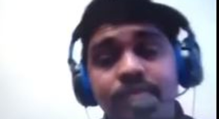 [WATCH] Job hopeful caught cheating during his Skype interview