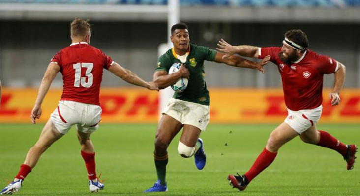 [LISTEN] The Flash Drive: Damian Willemse donates World Cup gear for good cause