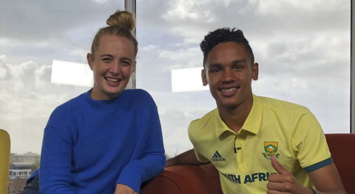 Watch him jump! On the couch with U-18 high jump world champ Breyton Poole