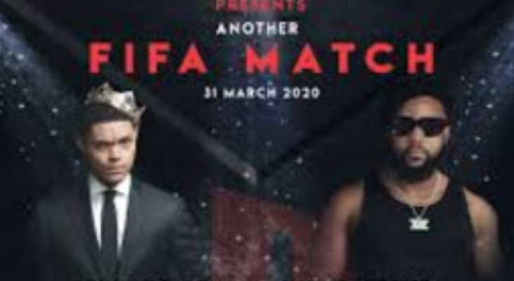 [WATCH] Trevor Noah and Cassper Nyovest playing online FIFA game goes viral