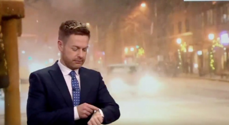 [WATCH] Weather forecaster and watch contradicting statement goes viral
