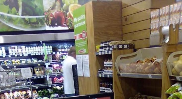 Spar owner provides shelf space for struggling local stores and restaurants