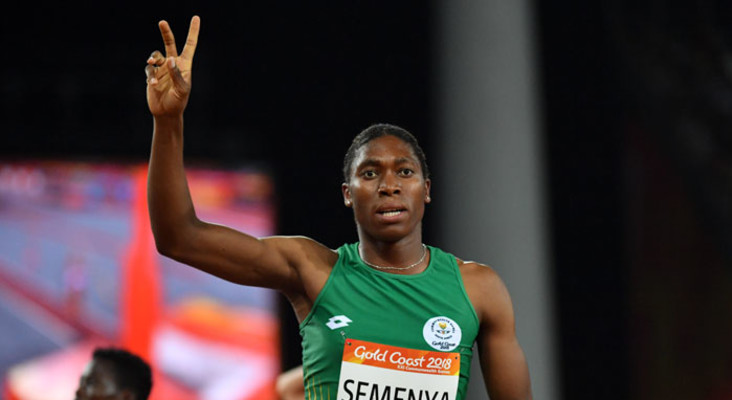 Semenya completes Commonwealth Games gold double