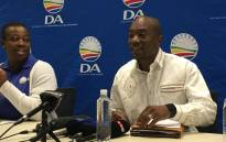 DA leader Mmusi Maimane briefing the media on the weekend's Federal Council held in Pretoria. Picture: Hitekani Magwedze/EWN.