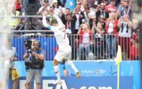 Portugal's Cristiano Ronaldo celebrate his goal. Picture: @selecaoportugal/Twitter