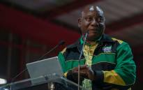 ANC president Cyril Ramaphosa delivered the closing address at the party's 54th national conference at Nasrec in Johannesburg on 21 December 2017. Picture: Christa Eybers/EWN