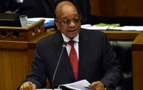 FILE: President Jacob Zuma in the National Assembly. Picture: GCIS.