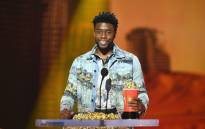 Actor Chadwick Boseman accepts the best performance in a movie award for 'Black Panther' onstage during the 2018 MTV Movie And TV Awards ain Santa Monica, California. Picture: AFP
