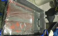 Cocaine seized by OR Tambo International Airport officials. Picture: Supplied.