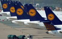FILE: Airplanes of German airline Lufthansa stand at the airport in Duesseldorf, western Germany, on 22 Apri 2013. Picture: AFP.