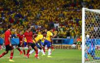 FILE: Brazil's captain Thiago Silva gets his attempt on goal saved by Mexican goalkeeper, Guillermo Ochoa in the dying minutes of the Fifa World Cup match on 17 June 2014. Picture: Fifa.com.
