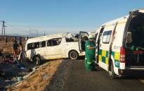 The scene of an accident on the N1 between Leeugamka and Prince Albert Road in the Western Cape on 5 January, 2018. Picture: Supplied