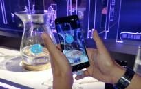 The new Samsung S9. Picture: Louise McAuliffe/EWN