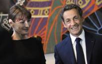 FILE: Former French President Nicolas Sarkozy and his wife Carla Bruni-Sarkozy. Picture: AFP.