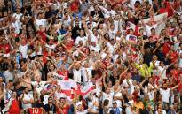 England supporters at the 2018 Fifa World Cup. Picture: @FIFAWorldCupENG/Twitter