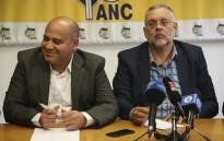 The ANC in the Western Cape addressed the media following the decision of the DA to rescind Patricia de Lille's membership. Picture: Cindy Archillies/EWN