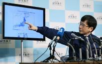Japan's Meteorological Agency official Koji Nakamura gives a briefing following a 6.9-magnitude earthquake that hit the country's northeast, in Tokyo on November 22, 2016. Picture: AFP