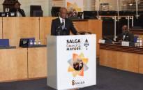 FILE: Salga president Parks Tau. Picture: @SALGA_Gov/Twitter