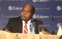 FILE: Mr Johnny Dladla, interim Group CEO of the Eskom board briefs media on 2016 results on 19 July 2017. Picture: Kgothatso Mogale/EWN.