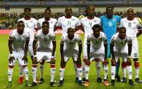 Burkina Faso's squad. Picture AFP.