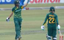 Proteas opener Laura Wolvaardt (left) became the youngest woman cricketer to reach 1,000 ODI runs. Picture: Twitter/@OfficialCSA
