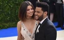 Selena Gomez with boyfriend The Weeknd at the Costume Institute Benefit on 1 May 2017 at the Metropolitan Museum of Art in New York. Picture: AFP.