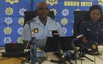 Acting SAPS Commissioner Khomotso Phahlane announced wholesale changes to the structure and management of the police, during a press briefing in Pretoria. Picture: Vumani Mkhize/EWN.