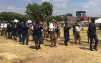 A police band leads proceedings at the launch of Operation Fiela II on 23 January 2018. Picture: Mia Lindeque/EWN