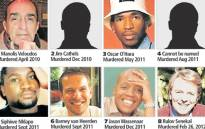 FILE: 8 gay men who were murdered. Picture: Supplied